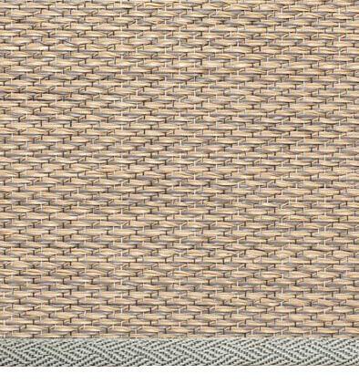 alfombra pixel con remate natur