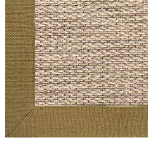 alfombra vinilo rematada con cenefa de microfibra