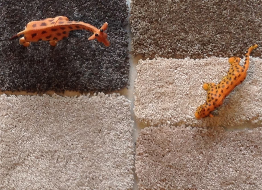 colores naturales de las alfombras Organik