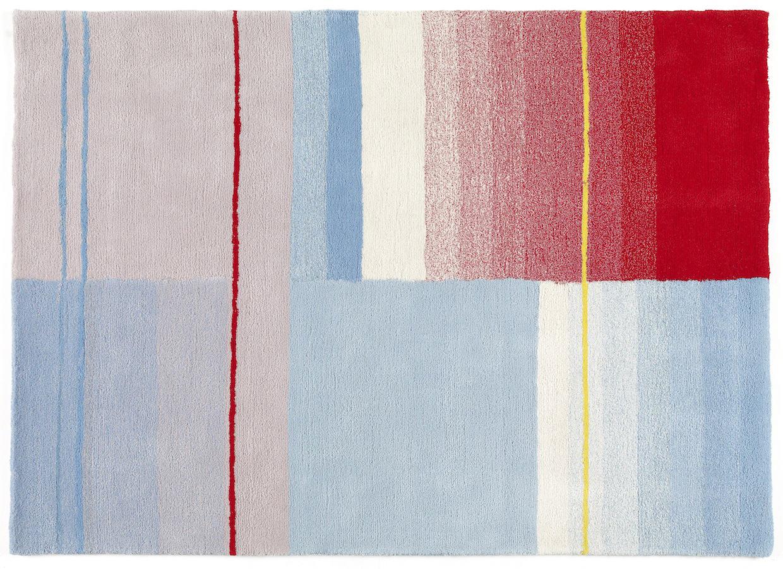 Tienda online alfombras ao azules rojos y cremas color 02 for Alfombra colores