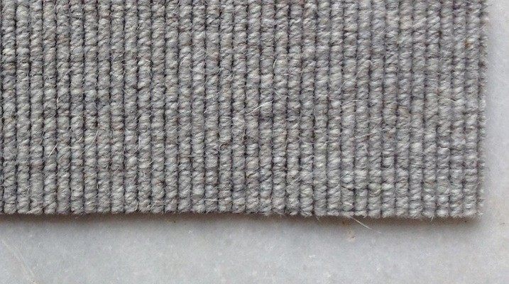 alfombra terminada al corte