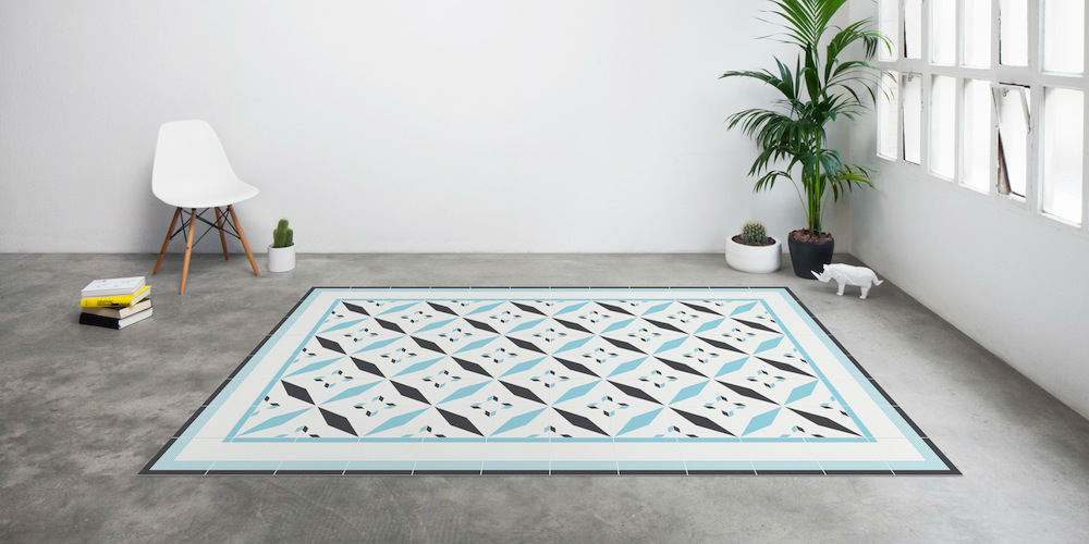 Tienda online alfombras ao alfombras que imitan suelos for Ikea alfombra azul