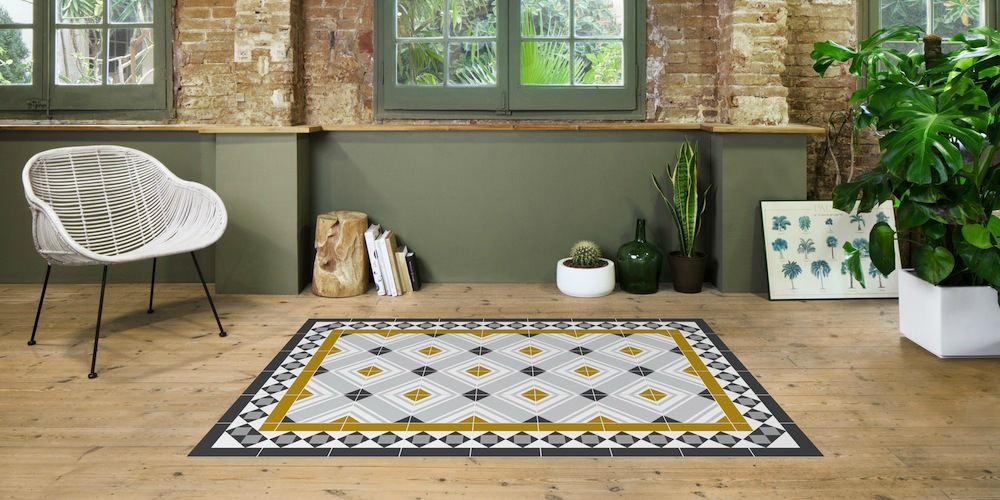 Tienda online alfombras ao alfombras que imitan suelos - Baldosa hidraulica barcelona ...