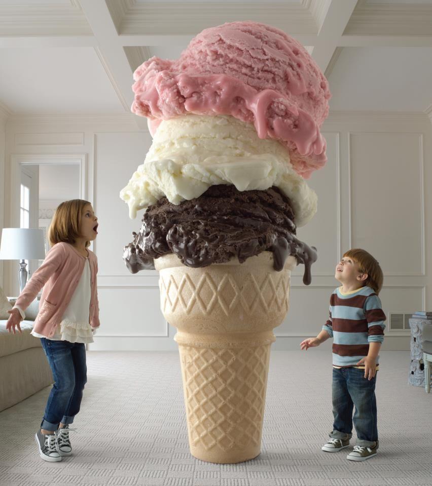 manchas de helado se limpian sin problemas