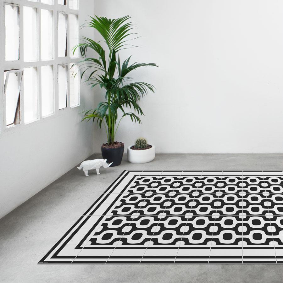 Tienda online alfombras ao alfombra mosaico ipanema - Alfombras de plastico ...