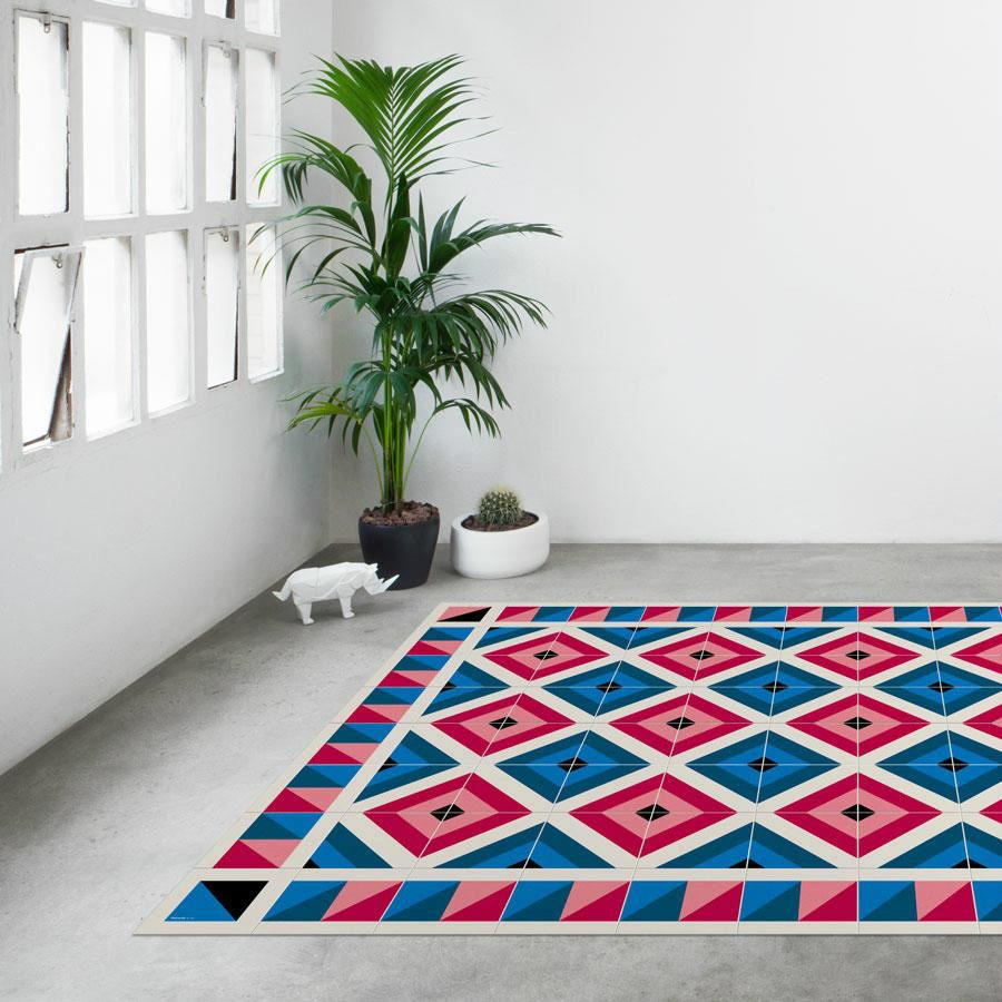 Tienda online alfombras ao alfombras con estampados de - Alfombras dibujos geometricos ...