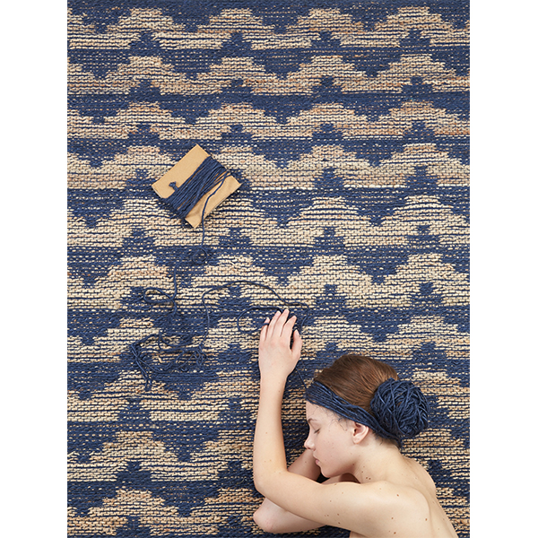 Tienda online alfombras ao alfombra archipielago indigo - Alfombras en oferta ...