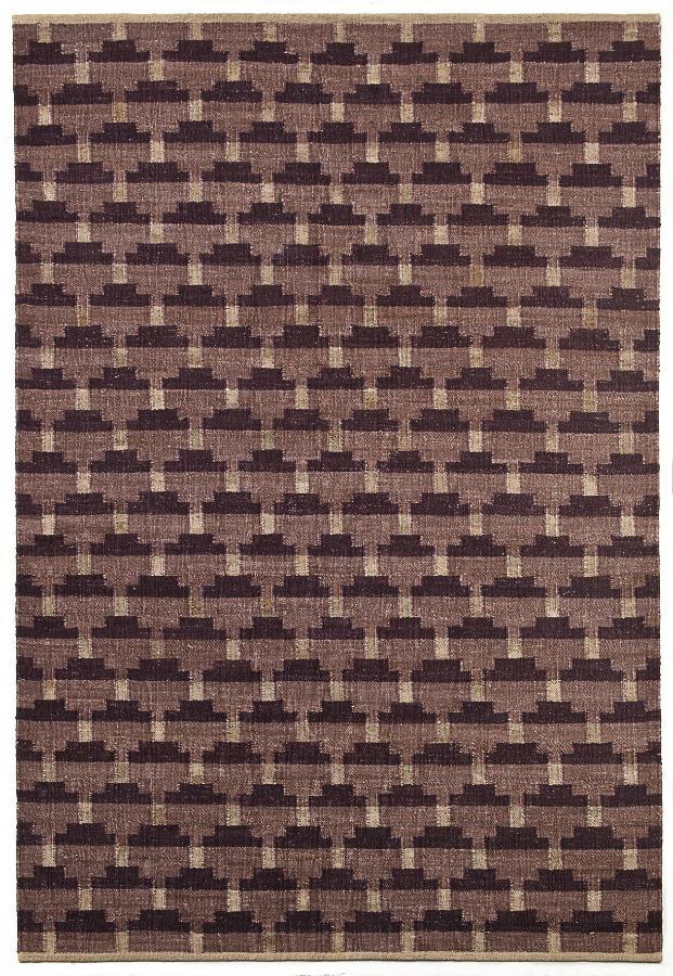 Tienda online alfombras ao alfombra ca amo confeti berenjena - Alfombras de canamo ...
