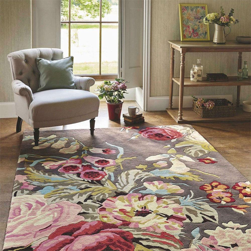Tienda online alfombras ao alfombras estampadas con flores for Alfombras online
