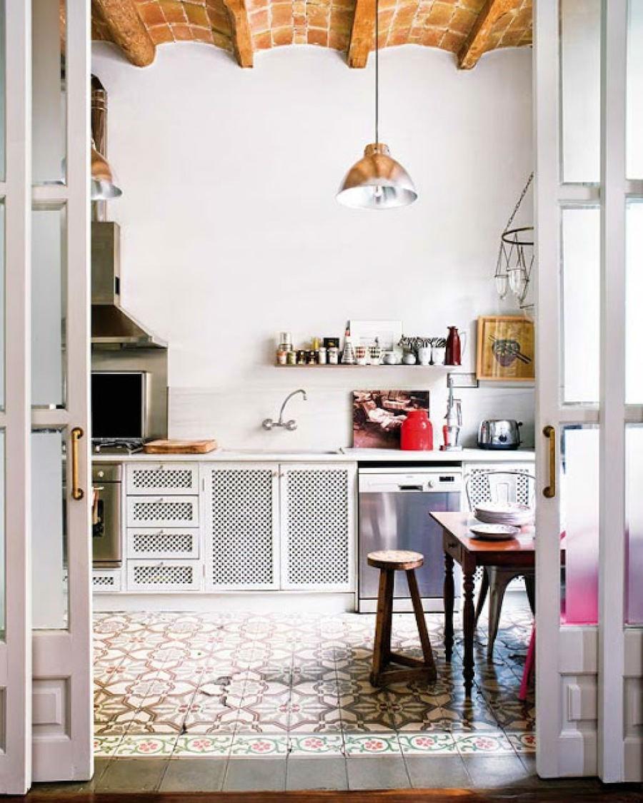 Cocinas Con Alfombras De Mosaicos Hidraulicos Ao Tienda Online