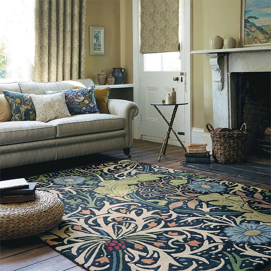 Tienda online alfombras ao alfombra estampado marino for Alfombras online