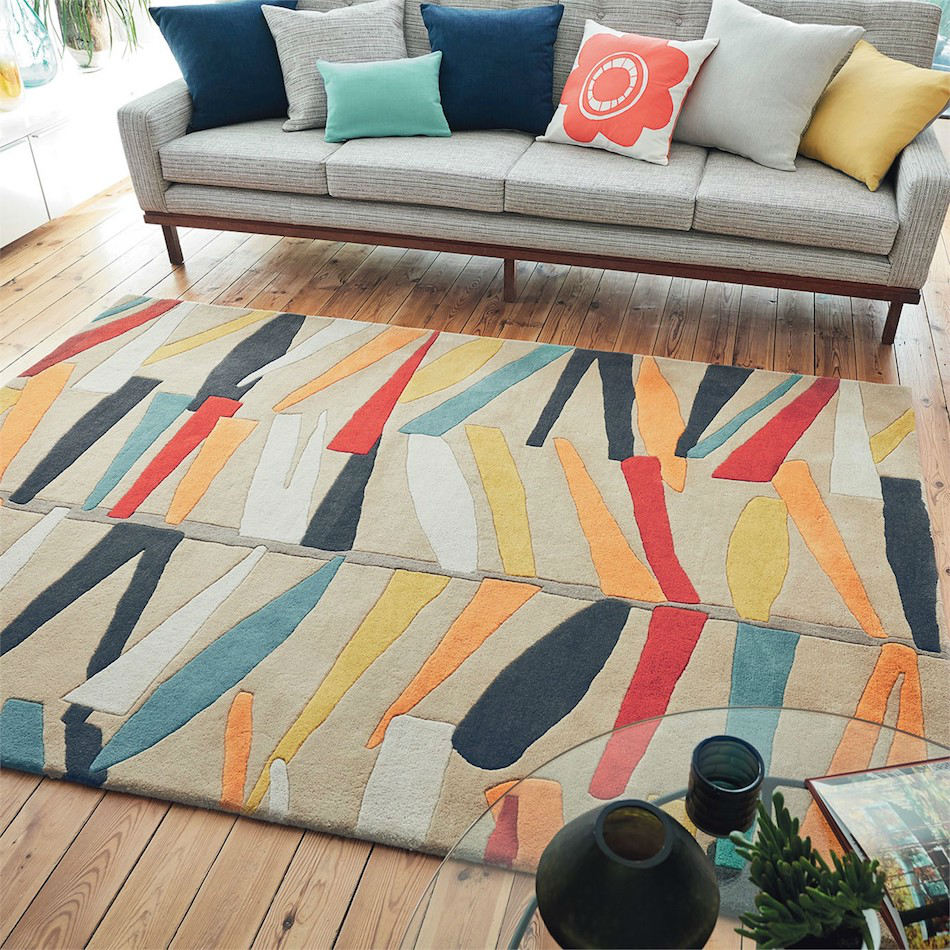 Tienda online alfombras ao alfombra ramas alegres for Alfombras online