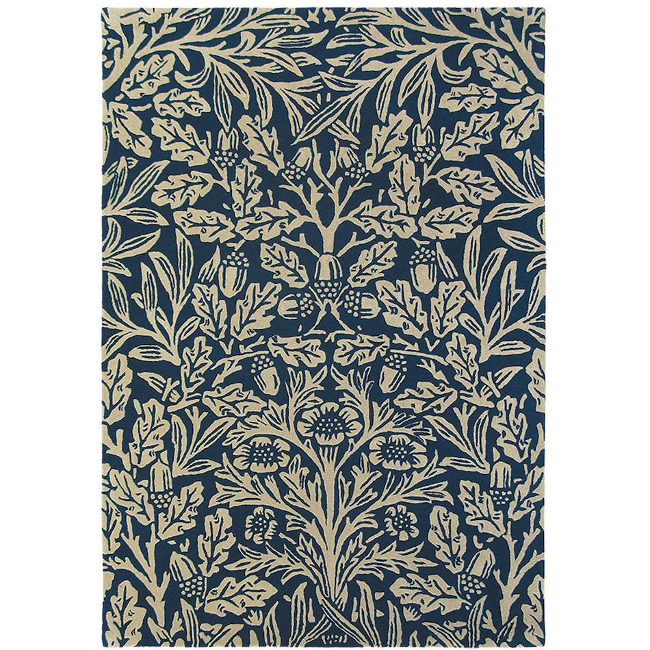 Tienda online alfombras ao alfombra roble azul marino for Alfombras online