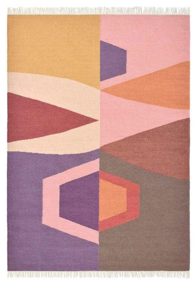 Tienda online alfombras ao alfombra tipi rosa for Alfombras online