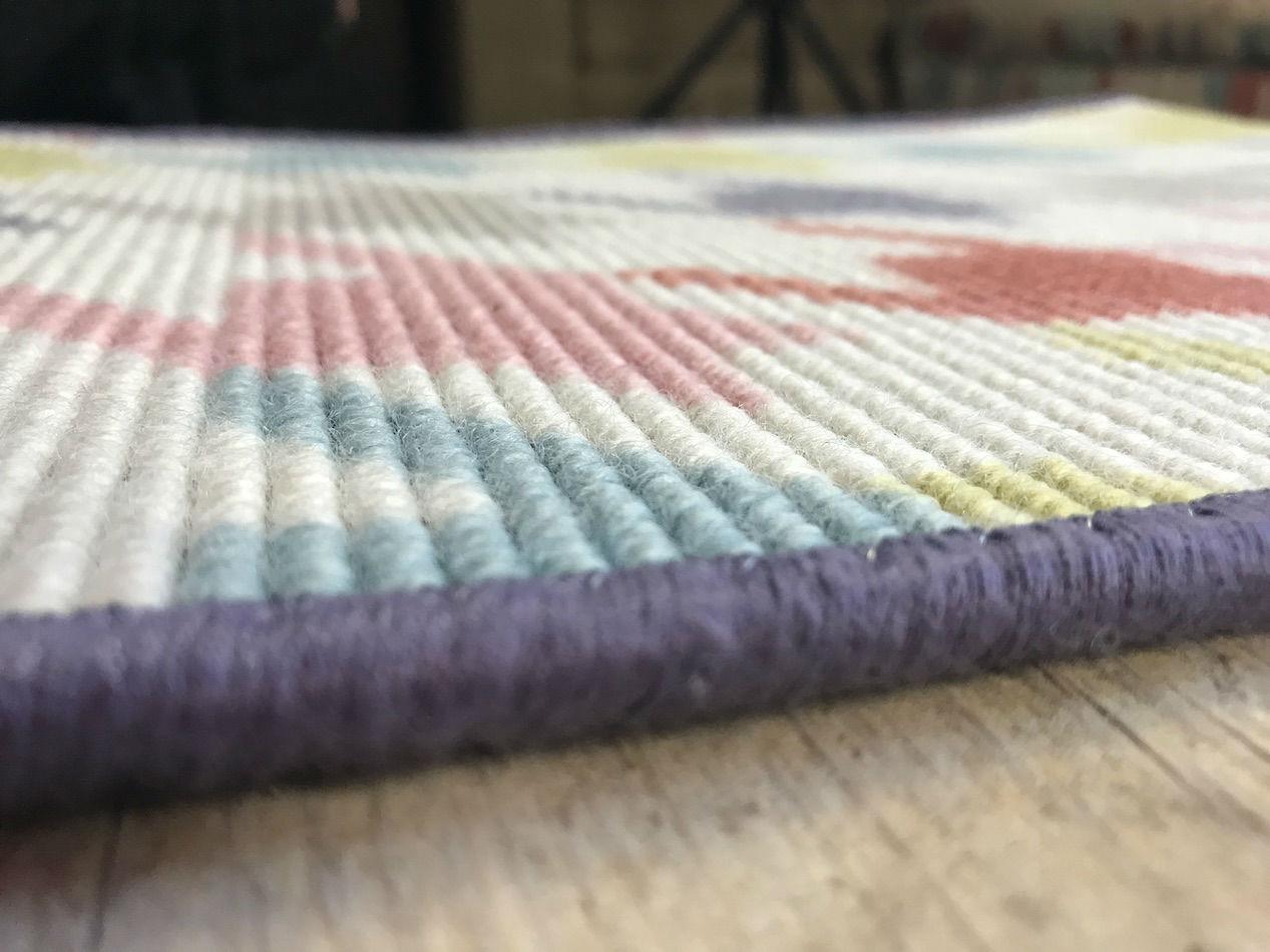 Tienda online alfombras ao geometrika aspa de molino for Alfombras de hilo