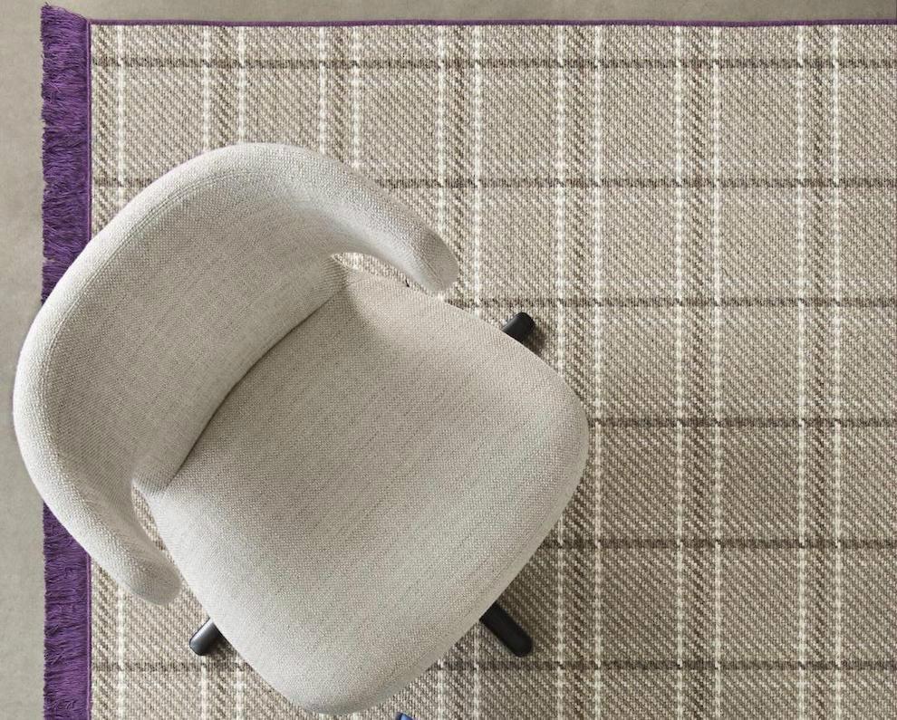 alfombra cuadros Scotch