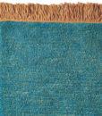 alfombra tibetana-flecos oxido detalle