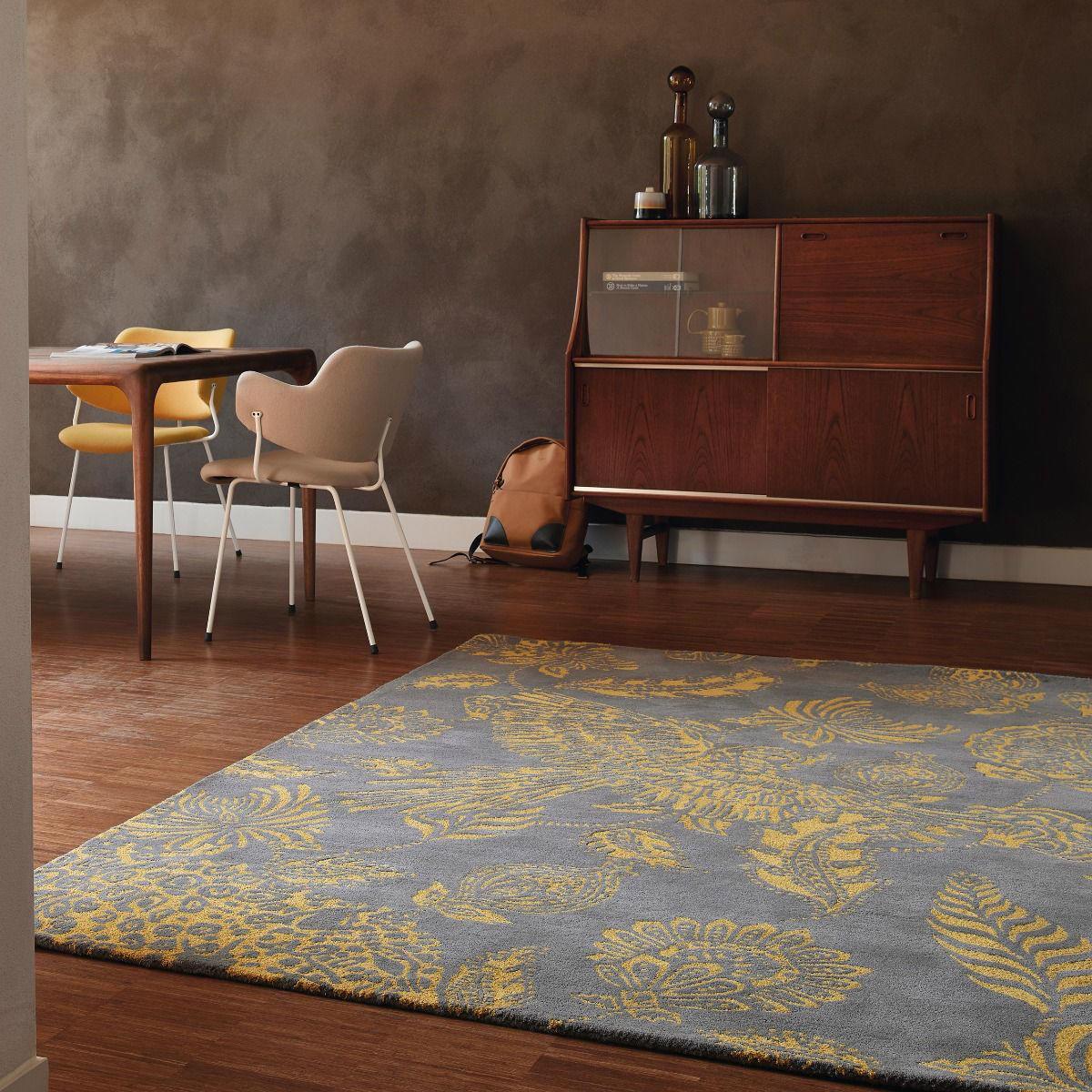 Alfombra loro Loran Amarillo • AO tienda online alfombras