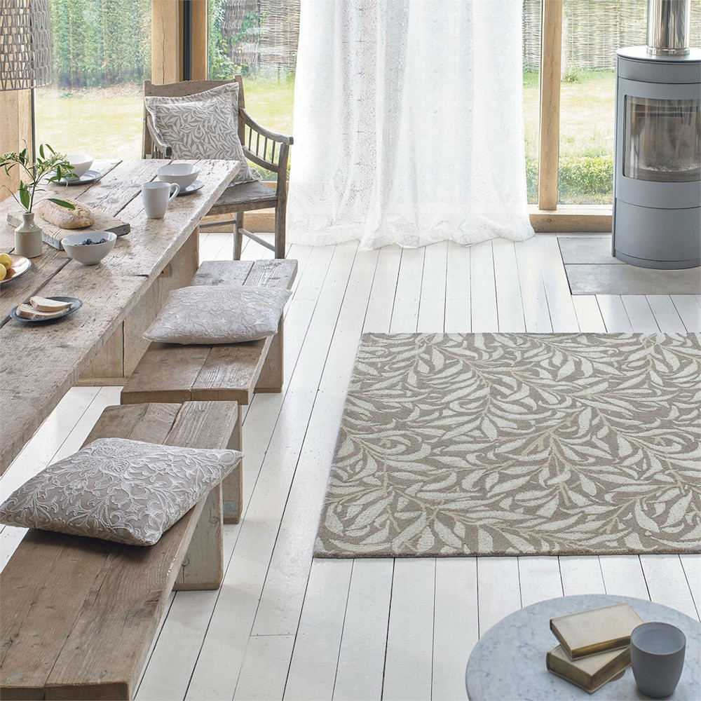 alfombra willow crema