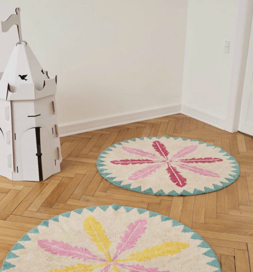 alfombra infantil redonda