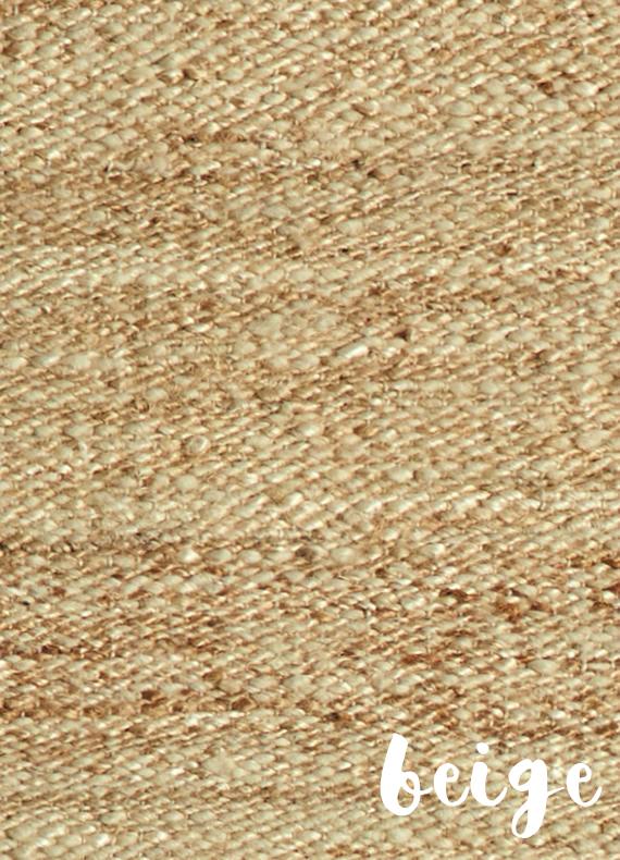 Alfombras naturales mezcla de yute, lana y algodon • AO