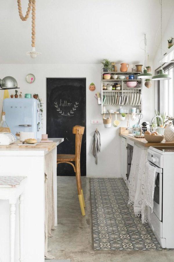 alfombras en cocina