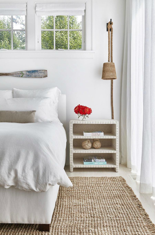 alfombra yute dormitorio