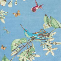 colibries azul
