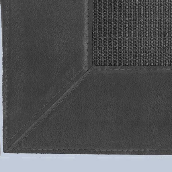PELLE (remate de 12 cm de similpiel con esquinas ingleteadas.)